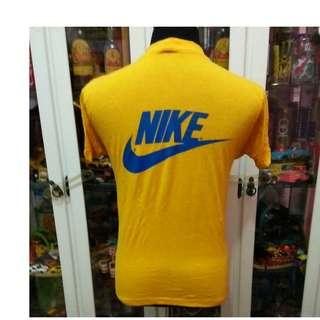 fe956aef Vintage Early 80's Nike Swoosh Hanes US Naval T Shirt