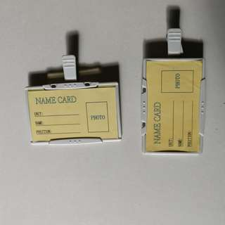 Pass or Name card holder
