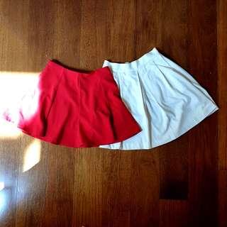 Set of 2 - Flare Skirts #julypayday
