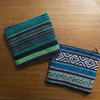CLOTH POUCHES - Earthy Patterns