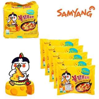 Samyang Spicy noodles (Cheese)