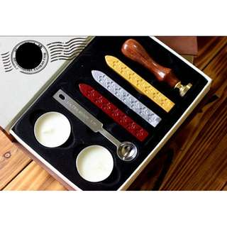 DIY Vintage Blessing Seal Wax Gift Box Complete Set