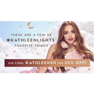 20% off Kathleen Lights' Favs!
