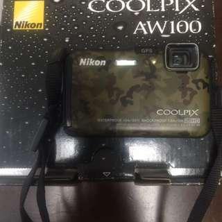 Nikon aw100 underwater camera