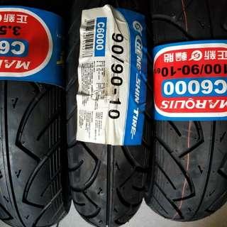 正新c6000全新100/90/10機車輪胎