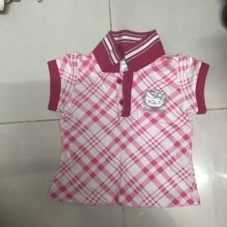 Hello kitty Polo Shirt