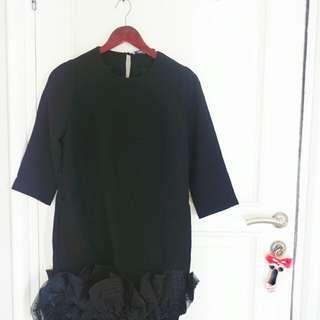 Black dress baru 1x pakai