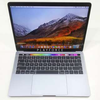 """MBP 2017 13"""" Touch 512GB - Apple Macbook Pro 13"""" Touch Bar 512GB Space Grey"""