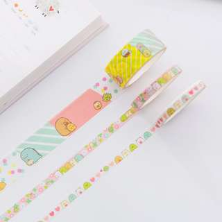 Last 1 Instock! (Mix & Match)*San-X Japan - Sumikko Gurashii Washi Tape Set (Pink)