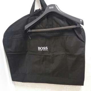 100%New 原裝正版Boss西裝晚裝套及衣架套裝