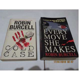 Robin Burcell, Paperbacks, Preloved Book/Books, Softbound