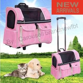 Pet trolley Medium BAG PORTABLE OUTDOOR SHOULDER BACK PACK BAG CARRIER