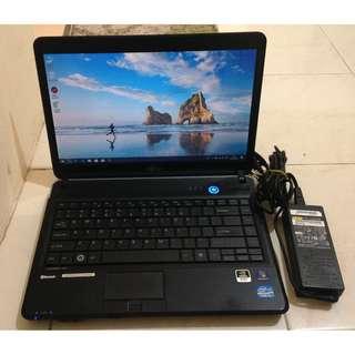 Laptop Fujitsu Lifebook LH701 Mulus
