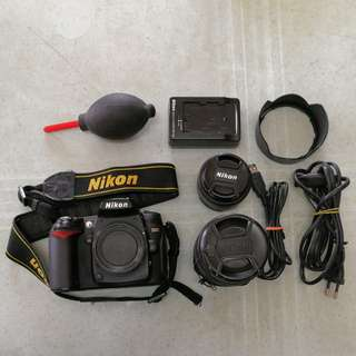 Nikon D90 Full Set with Tamrac Bag