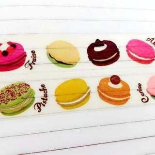 🚚 Celia 。 風中小舖 紙膠帶分裝 馬卡龍 甜點
