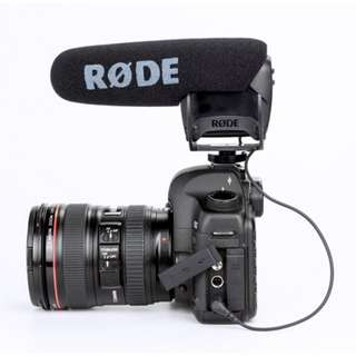 RODE VideoMic Pro Microphone (with Rycote Lyre Suspension Mount)