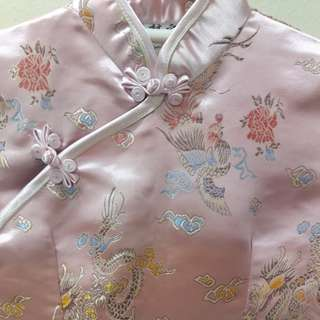 Silk Cheongsam For Girl