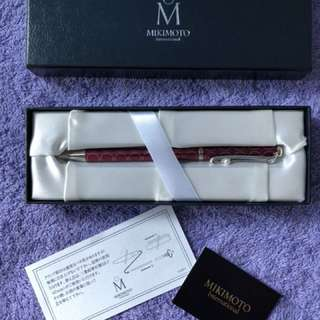 LIMITED EDITION OF MIKIMOTO PEN