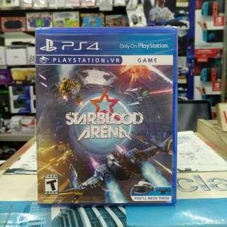 🆕 PS4  StarBlood Arena ( Playstation VR )