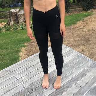 Gym Shark limited edition Nikki black tights