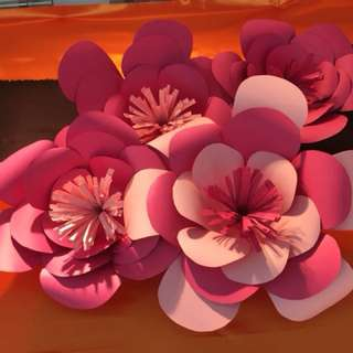 Home Deco Paper Flowers