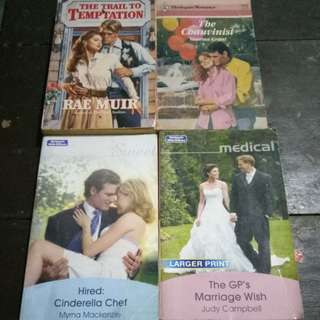 P30 each - Harlequin Historical and Mills&Boons