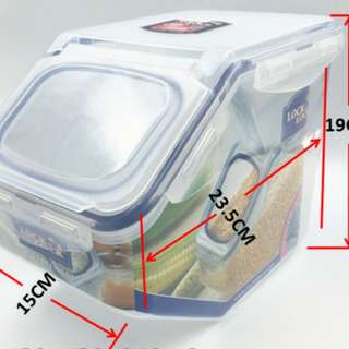 New Lock and Lock Rice Storage Container