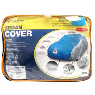 Deflector DCCB-S4-SB Sedan Car Cover (Silver/Blue)