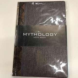 Mythology Brown Snake Print Notebook (A5)