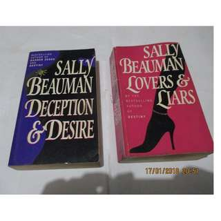 Sally Beauman, Paperbacks, Preloved Book/Books, Softbound