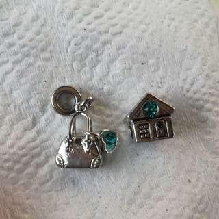 Bracelet charm both