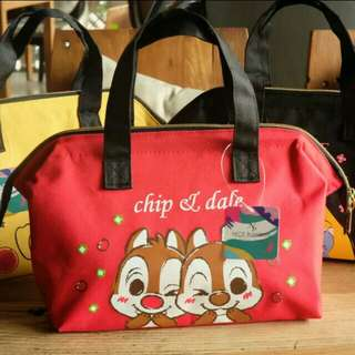 Red Chip And Dale Thermal Bag
