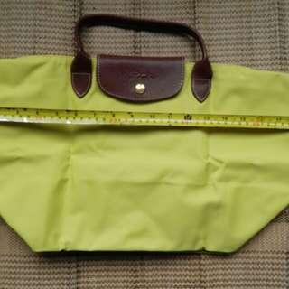 Longchamp 黃色手提袋全新