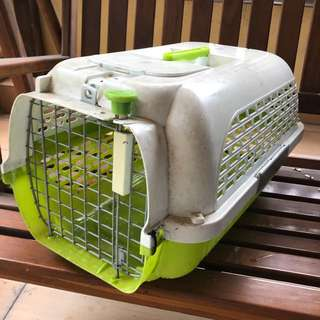 Pet Carrier Small Dogit Voyageur (Green/White)