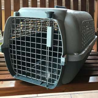 Pet carrier Large Dogit Voyageur - Gray/Gray