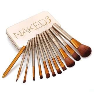 12 pcs/set Naked3 Brushes