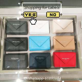balenciaga mini wallet (代購)