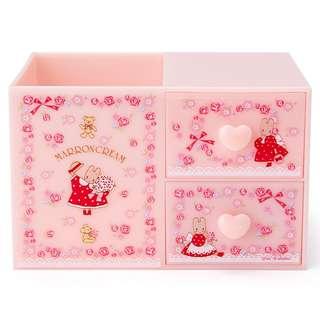 日本 Sanrio 直送 Marron Cream MC 兔筆座連儲物櫃筒仔