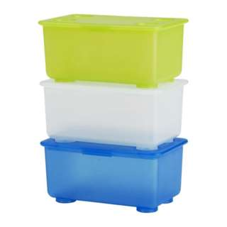 [IKEA] GLIS Box with Lid / 3pieces