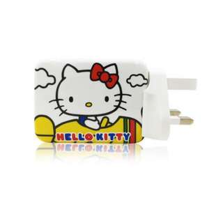 Hello kitty 4插座充電器
