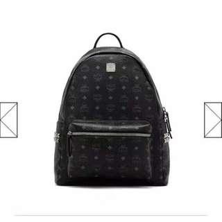 Stark Backpack in side studded visetos