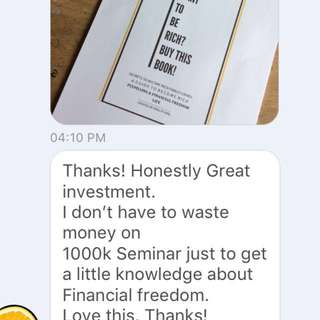 Customer Feedback 💕 | PDF Want to be rich ? buy this book!