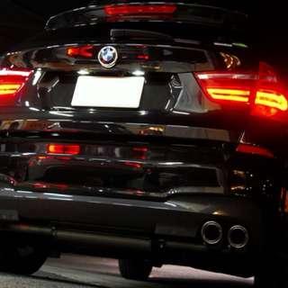 BMW X3 REMUS Quad Exhaust LTA Certified
