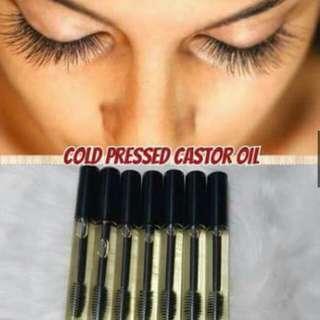 Organic castrol oil eyelash grower