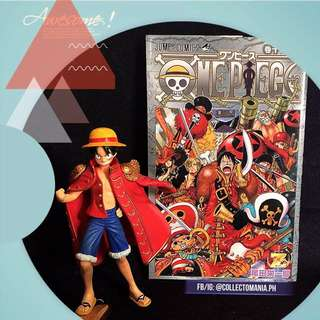 "ONE PIECE LUFFY figure & manga Vol. 1000 ""Z"" set"
