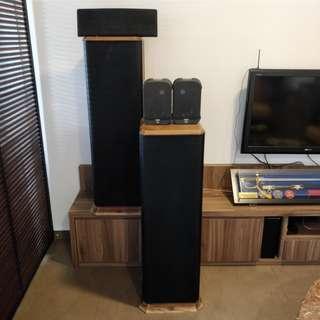 JBL 5.1 speakers reserved