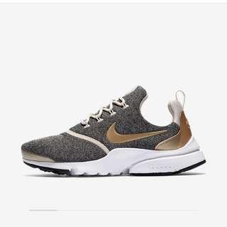Nike Presto Fly Se 金灰 襪套
