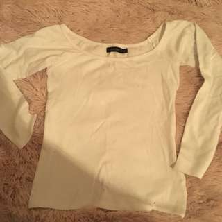 Glassons off the shoulder long sleeve