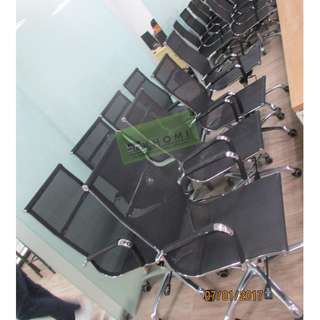 25pcs HIGHBACK-MESH EXECUTIVE CHAIRS--KHOMI