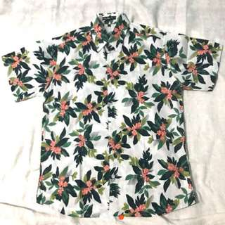 Floral polo for men